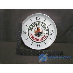Maple Leaf Co-op Clock