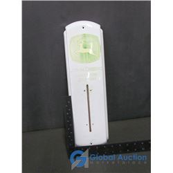 John Deere Tin Thermometer