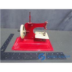 Vintage Metal Kids Sewing Machine