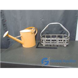 Metal Milk Carrier and Watering Can