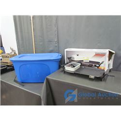 Grill Combo with Box and Bucket