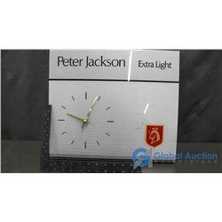 Peter Jackson Clock Display