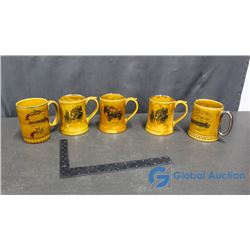 (5) Collecters Mugs