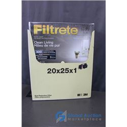 (6) Filtrete Air Cleaning Filters Dust Reduction