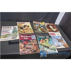 Vintage Outdoor Life Magazines
