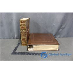 Vintage Photograph Book & 1843 Holy Bible (Vol III)
