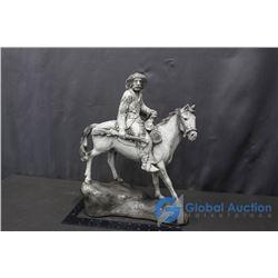 **Vintage Buffalo Bill Statue