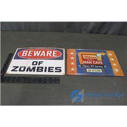 (2) Repo Signs