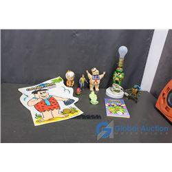 80's Cartoon Toys - TMNT, Flintstones, Ghostbusters, Scooby Doo