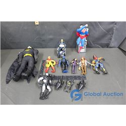 X-Men, Batman and Superman Toys