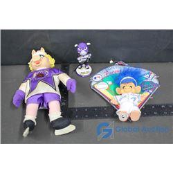 Blue Jays Troll, & Muppet Hockey Doll