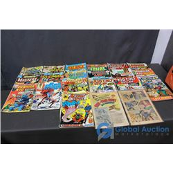 (21) Comics - Kid Colt, Rawhide Kid, Outlaw Kid, Superman, X-Men, Red Sonja