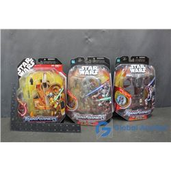Star Wars Toys in Packages