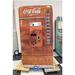 1957 Coca-Cola Vendo Model H110 Vending Machine, for restoration