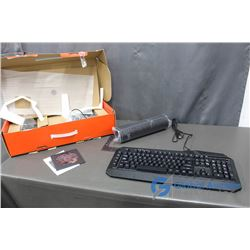 BlackWeb Gaming Starter Set - Keyboard, Mouse and Headphones in Box