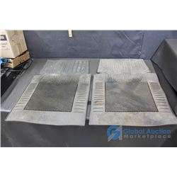 (2) Rubber Automotive Floor Mats