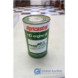 Castrol HD Engine Oil Imperial Quart Tin w/ Contents