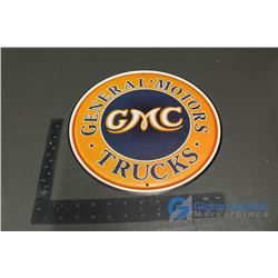 GMC Repro Tin Sign 12""