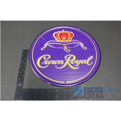 Crown Royal Repro Tin Sign 12""