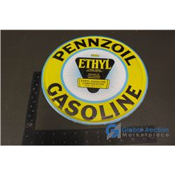 Penzoil Repro Tin Sign 12""