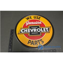 Chevrolet Repro Tin Sign 12""