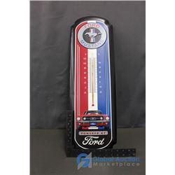 Mustang Repro Tin Thermometer