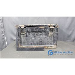 **Metal Trunk and Cash Box