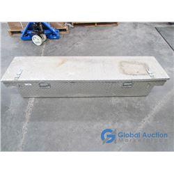 """** Large Metal Tool Box 5'9 1/2""""x17"""""""