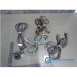 Video Game Cords and DVD Movie Playback and 256MB Memory Unit