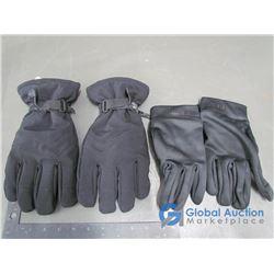 Mens Tundra Thinsulate Ski Gloves (XL) Mens Roots Nylon Gloves (XL)
