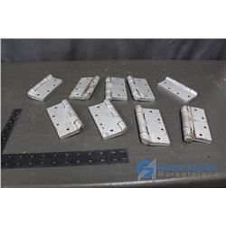 (9) Heavy Duty Door Hinges