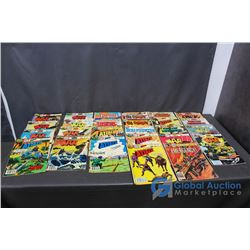 (25) Vintage War Comics