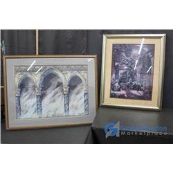 **(2) Framed Pictures
