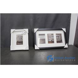 (2) Empty Picture Frames