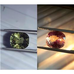 Natural Untreated Cushion Alexandrite  - GRS Certified
