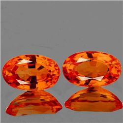 Natural Intense Orange Sapphire [Flawless-VVS]