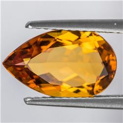 Natural Golden Orange Citrine 13x8 MM [Flawless-VVS]