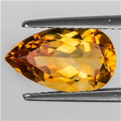 Natural Intense Yellow Citrine 13x8 MM [Flawless-VVS]
