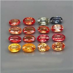 Natural Fancy Color Sapphire (5x3 MM) 4.08 Cts