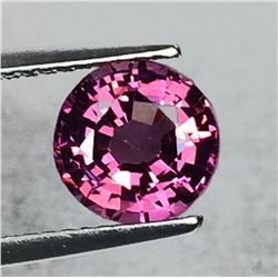 Natural Raspberry Burma Pink Spinel 7.00 MM - Untreated