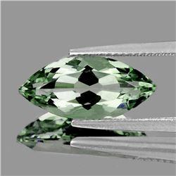 NATURAL GREEN AMETHYST 18x9 MM - FLAWLESS