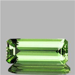 Natural Canary Green Apatite 8.90 Cts - VS