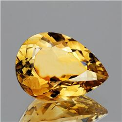 NATURAL GOLDEN YELLOW CITRINE 15x10 MM - FL
