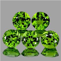 Natural AAA Green Peridot {Flawless-VVS1}