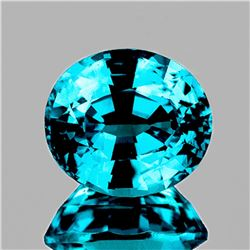 Natural Top Electric Blue Zircon 2.65 Ct  - VVS
