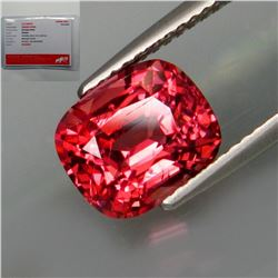 Natural Burma Padparadsha Spinel 3.15 Cts - Certified
