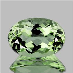 Natural Healing Green Amethyst 14x10 MM [Flawless-VVS]