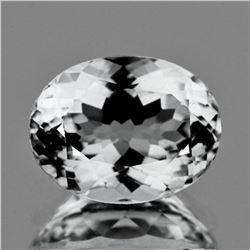 Natural  Diamond White Aquamarine 2.88 Ct - FL