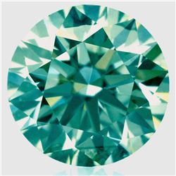 SPARKLING 3.84 CT MINT GREEN DIAMOND
