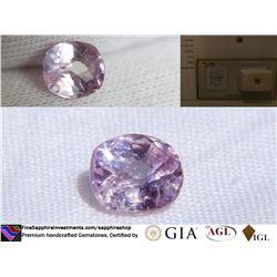 Pink Sapphire, unheated, premium cut | AGL 1.12 ct